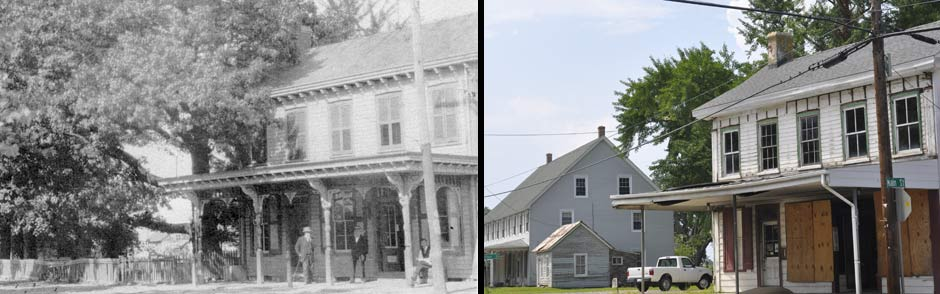 Still Pond Store 1918 and present